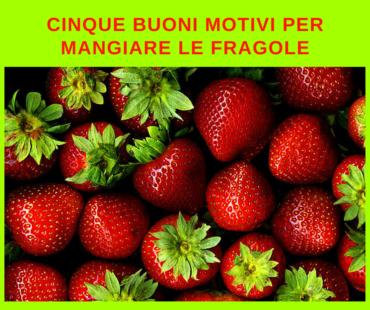 Le fragole fanno bene, ma non aggiungerci lo zucchero!